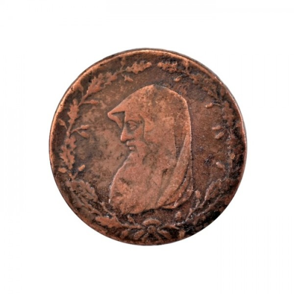 GREAT BRITAIN  -  1789 Anglesey, 1/2 Penny Token, F TOKENS - JETONS