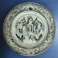 Union of Hepirus & Thessaly. Black shallow plate. COLLECTIBLES